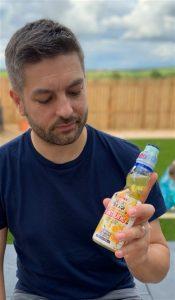Chris Watson Ramune Soda Bottle
