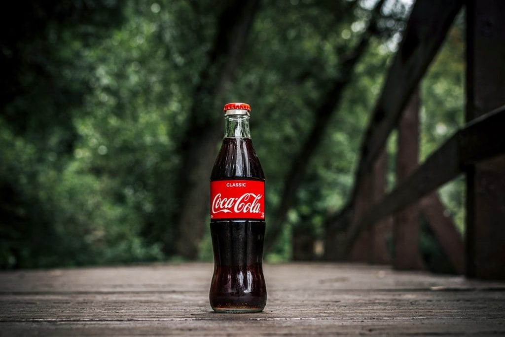 The original Coca Cola