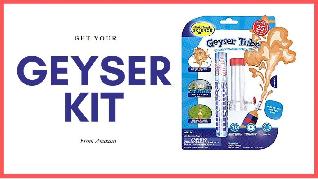 Geyser Kit for Mentos
