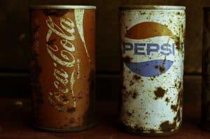 Peps V Coca Cola 1960s