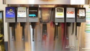 does a soda fountain use tap water
