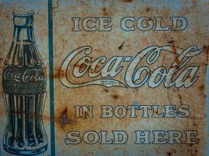 nostalgic ice cold coca-cola advertising