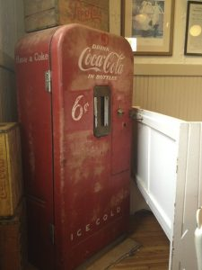 old coca cola vending machine