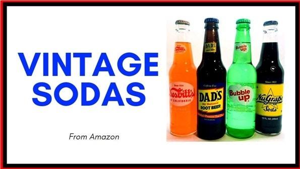 vintage soda packs on amazon