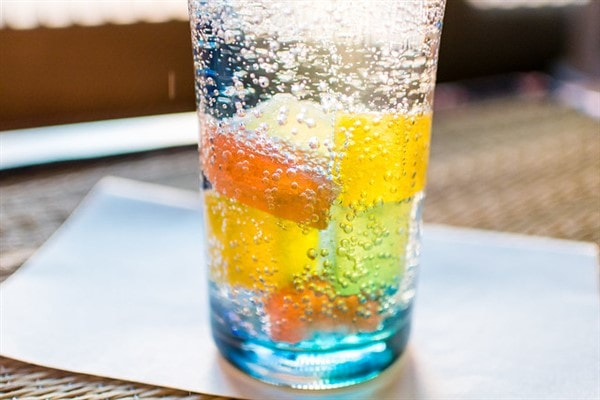 flavored carbonated waters