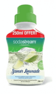 lemonade sodastream syrup