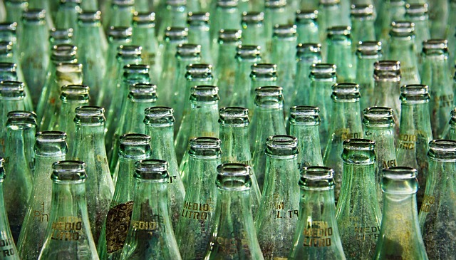 regular glass soda bottles