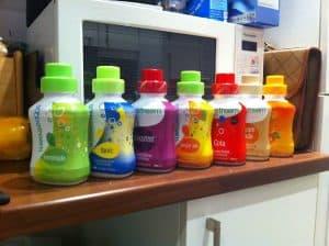 sodastream syrup bottles