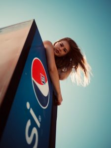 Pepsi Fridge Girl