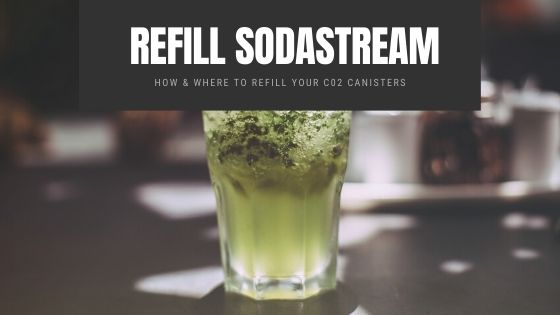 where to Refill Sodastream