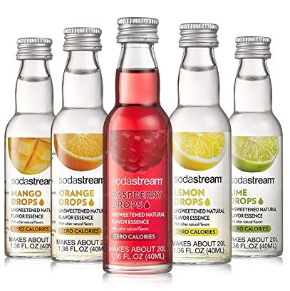sodastream fruit drops natural flavoring