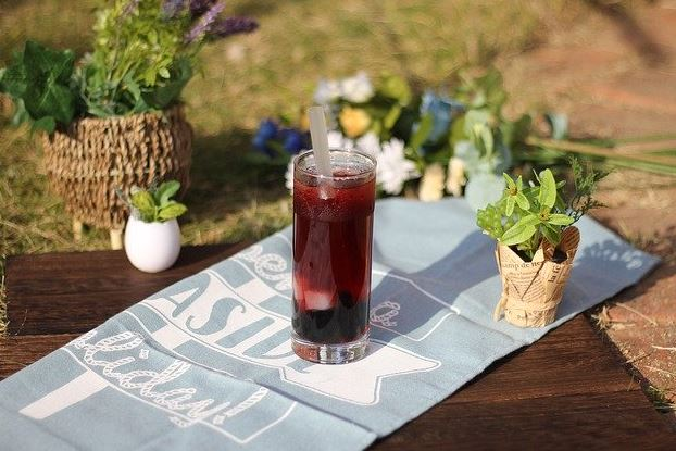 homemade blackcurrant cordial