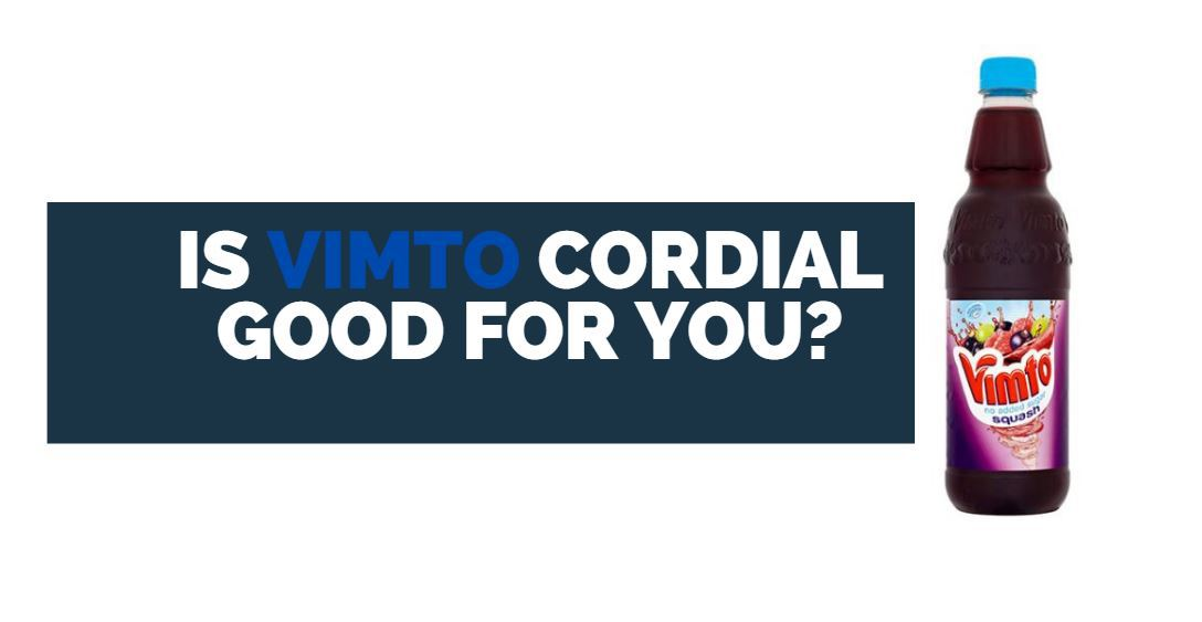 is vimto cordial good for you