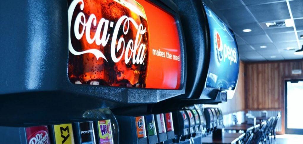 Which has more sugar Coke or Pepsi