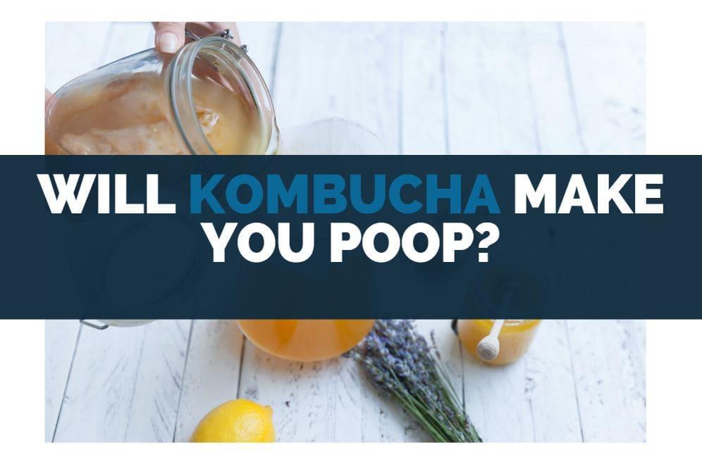 will drinking kombucha make you poop