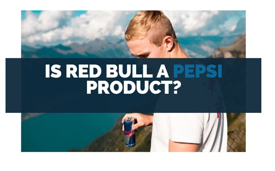 is red bull a pepsi product
