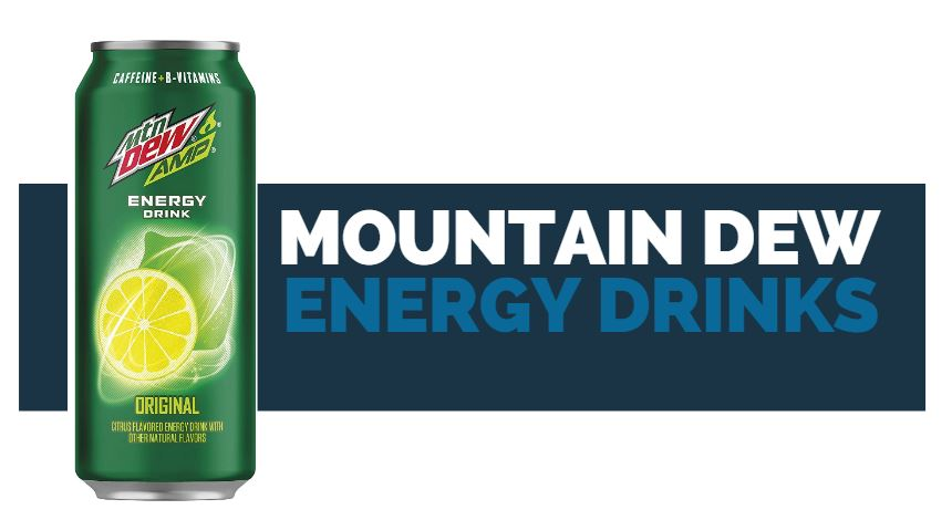 mountain dew energy drink flavors