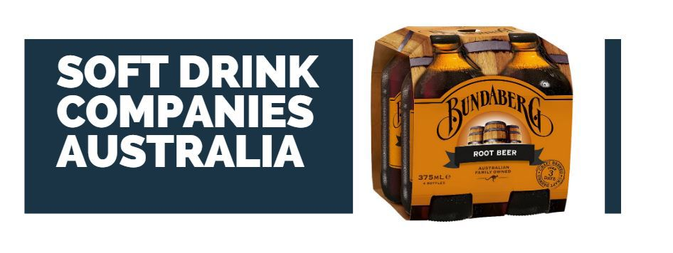 what are the soft drink companies in australia