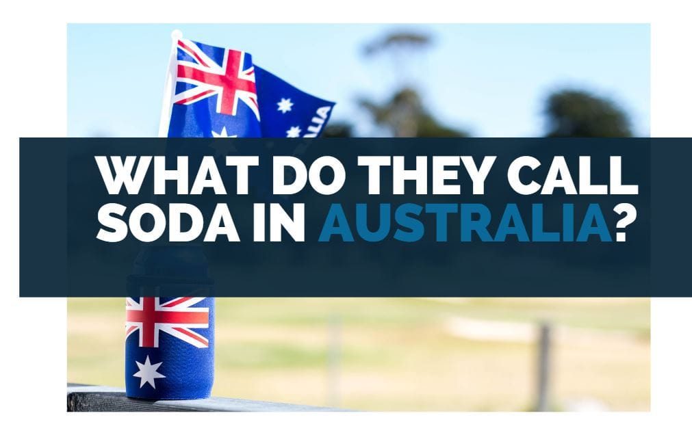 what do they call soda in australia