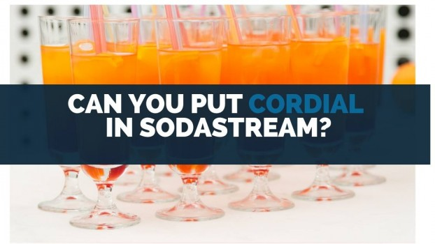 Can You Put Cordial in SodaStream