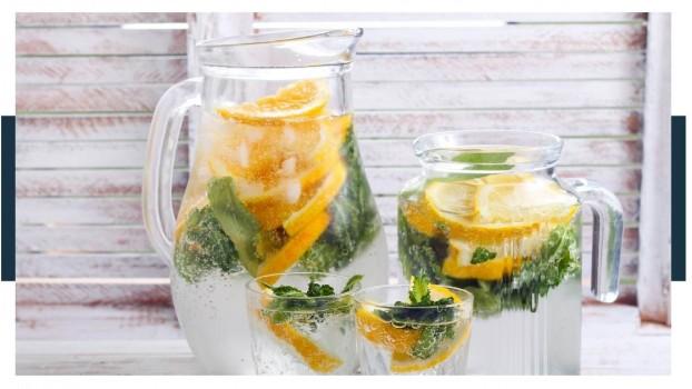 How do you make sparkling water taste better