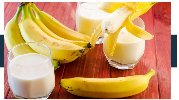 Is it bad to mix banana and milk