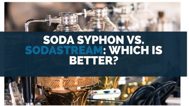 Soda Syphon vs Sodastream Which Is Better
