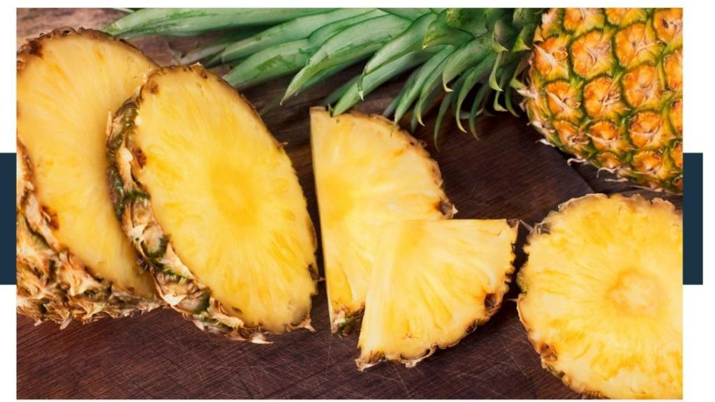 Does Baja Blast have pineapple in it