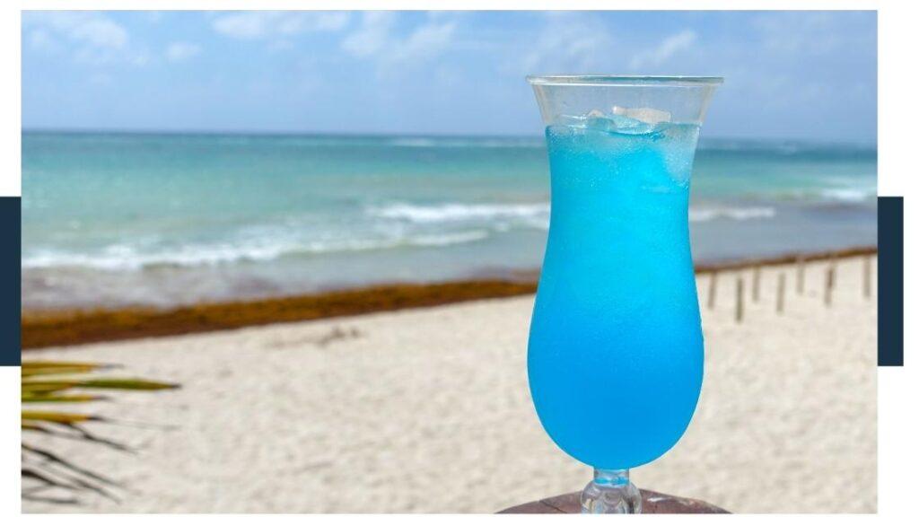 What is Big Blue soda