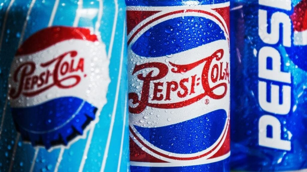 What sodas are Pepsi products