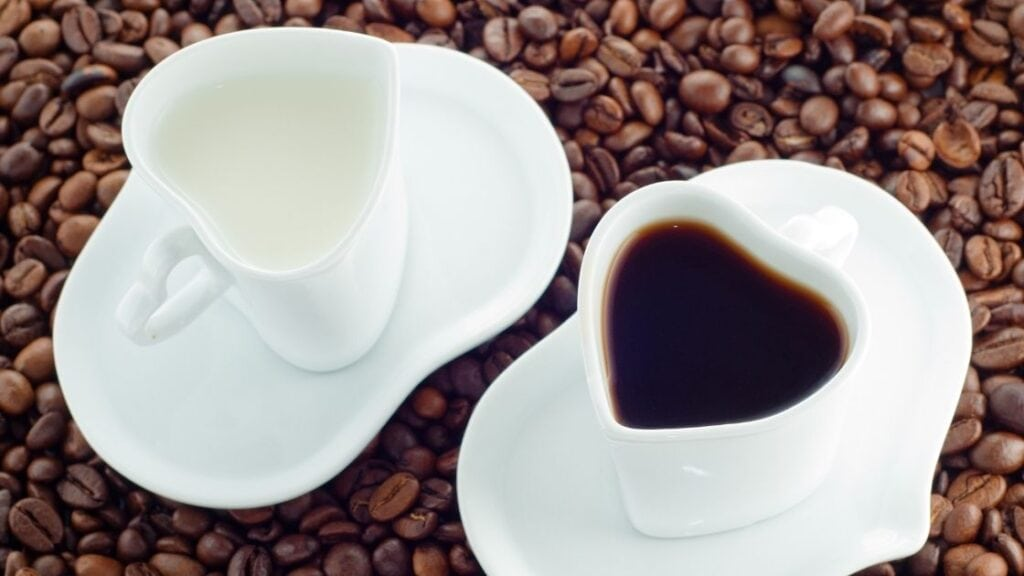 Do you put milk in nitro coffee
