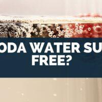 Is Soda Water Sugar Free