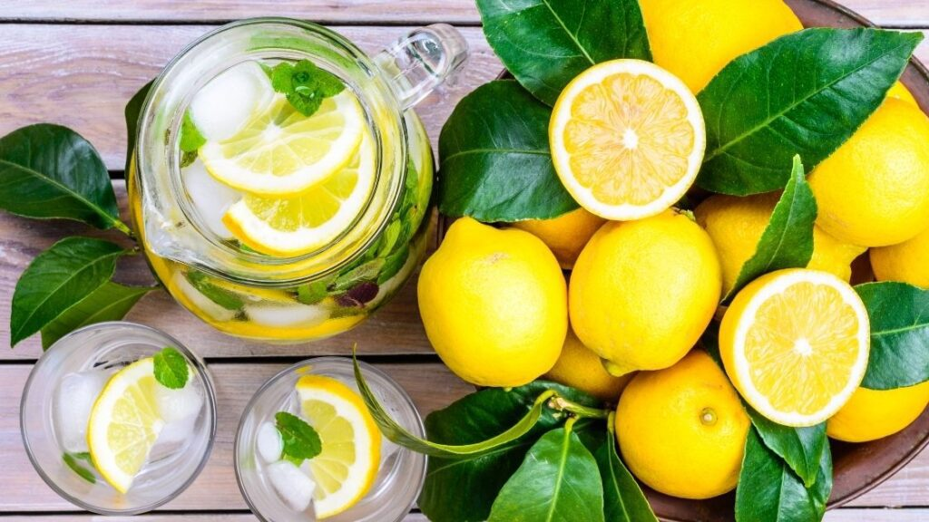 What Are The Nutrients in an Average Lemon