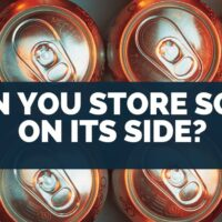 Can You Store Soda on its Side