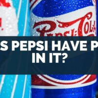 Does Pepsi Have Pork In It