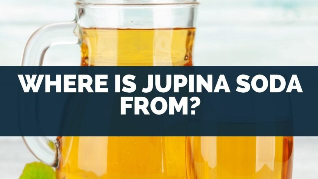 Where is Jupina Soda From