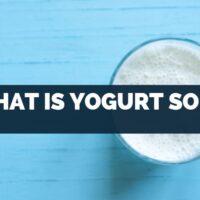 what is yogurt soda